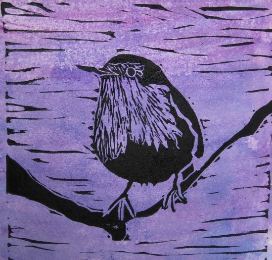 Purple Robin