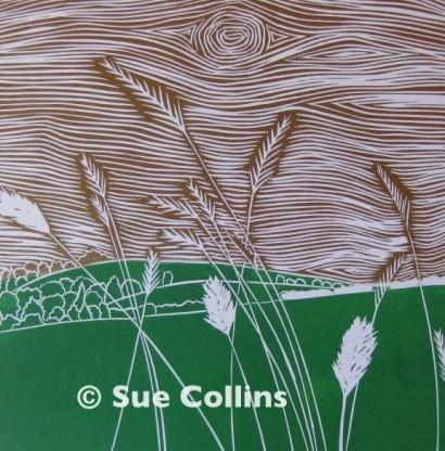 Watermarked Downland Grass