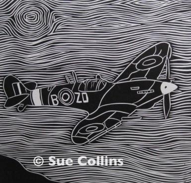 Watermarked Spitfire