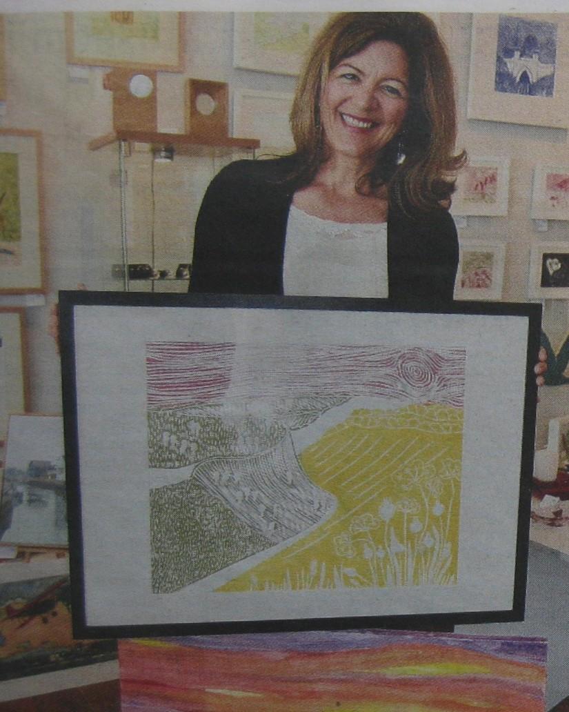 Me in Shoreham Herald (2)