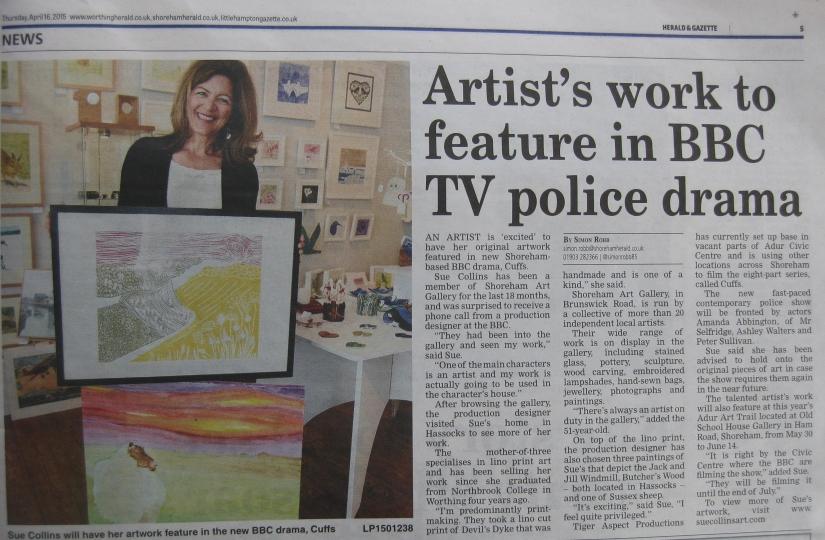 Me in Shoreham Herald