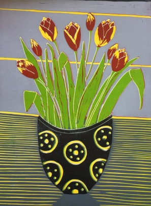Potted Tulipa
