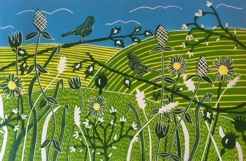 Sussex in Spring - Sue Collins