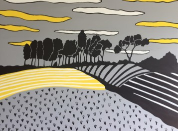 Chanctonbury Ring Painting 1