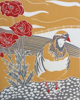 Sue Collins - Winter Partridge