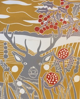 Sue Collins - Winter Stag