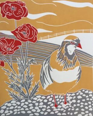 Sue Collins - Winter Partridge